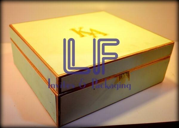 premium wedding invitation box