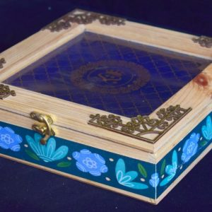 pine wood wedding box