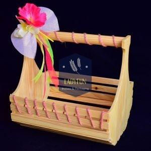 pine wood baskets & pine wood trays