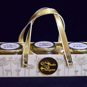 vegan leatherette wedding invitation hamper basket for mason jar